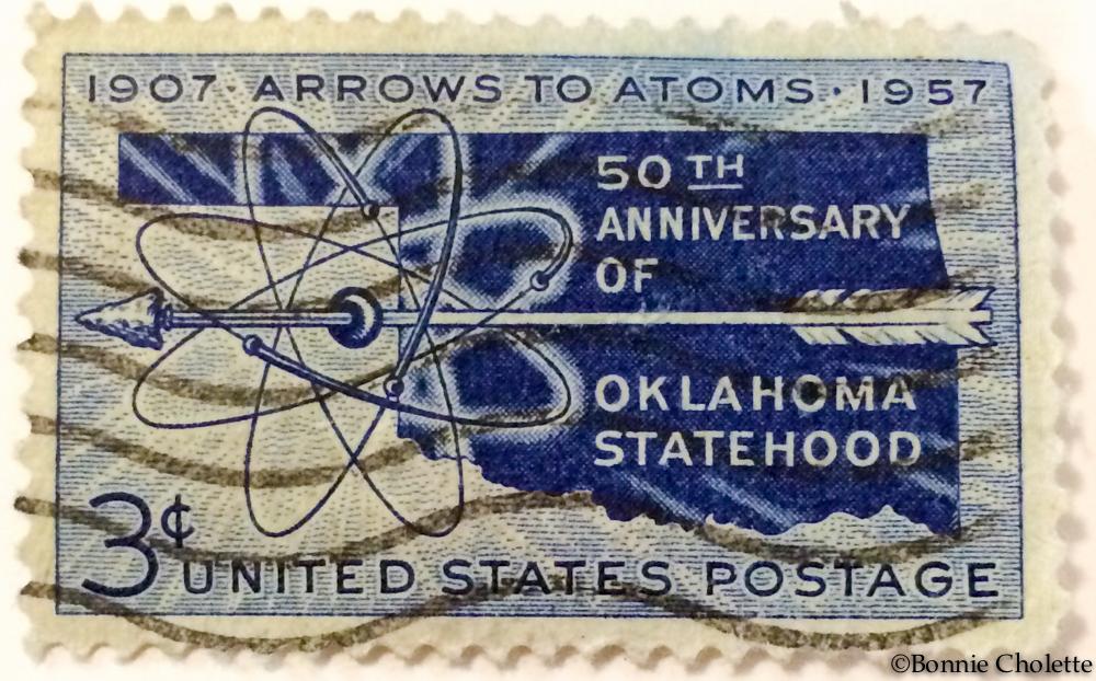 1937 Oklahoma Stamp
